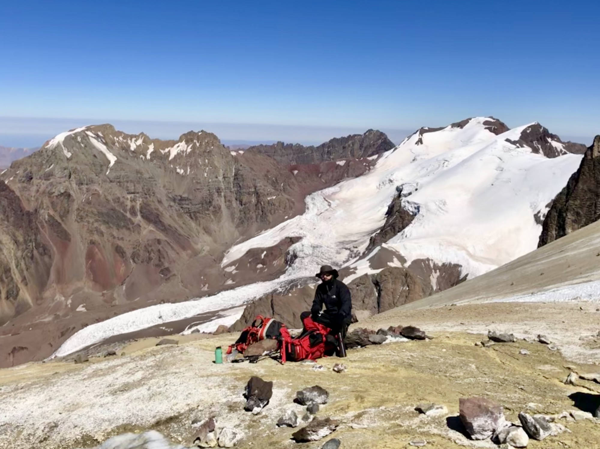 Ascension de l'Aconcagua