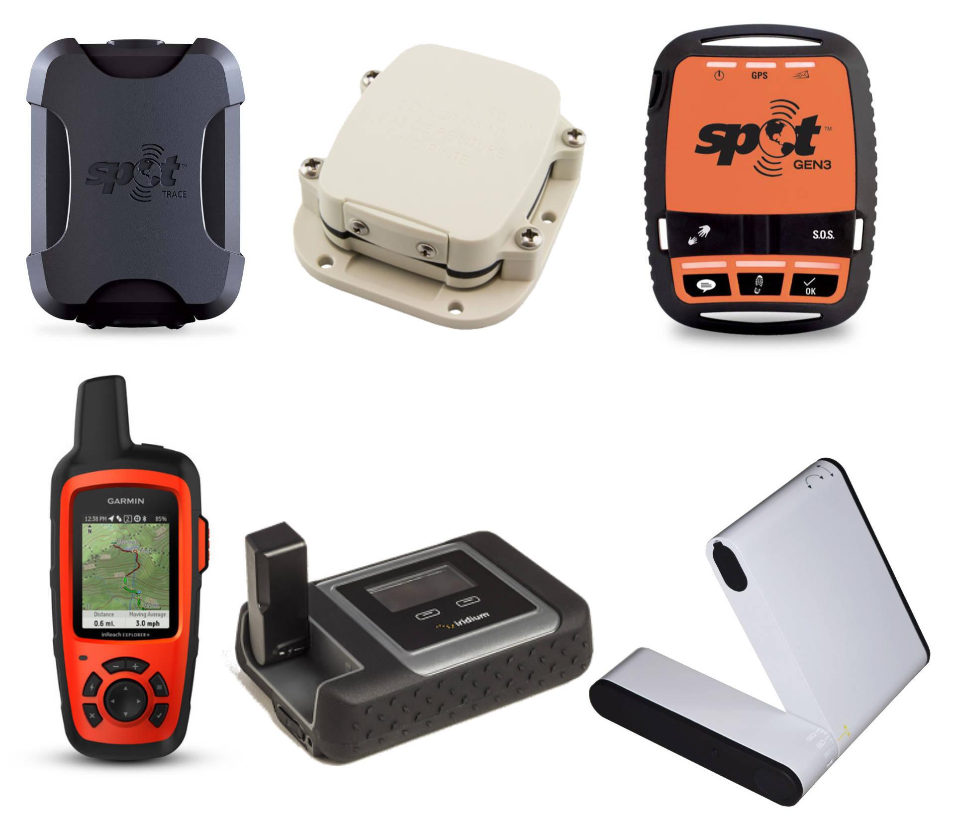 Exemple de dispositifs de communication par satellite